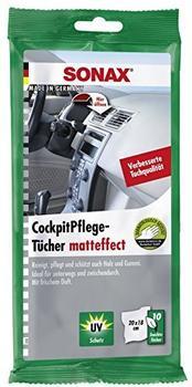 Sonax KunststoffPflegeTücher seidenmatt (10 Stück)