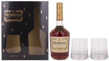 Hennessy VS Geschenkset mit 2 Gläsern 0,7l