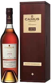 Camus Rarissimes 1970 Vintage Cognac 0,7l 46%