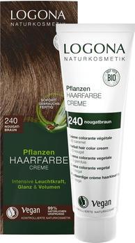 Logona Pflanzen Haarfarbe Creme 240 nougatbraun (150ml)