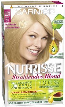 Garnier Nutrisse Strahlendes Blond 9.03 helles naturblond