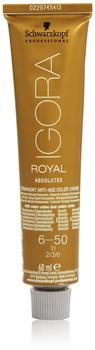 Schwarzkopf Igora Royal Absolutes 6-50 Dunkelblond Gold Natur (60 ml)