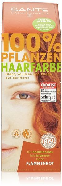 Sante Pflanzen-Haarfarbe Flammenrot (100 g)