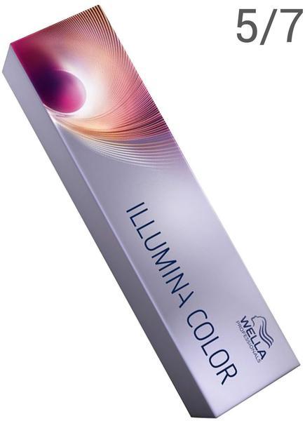 Wella Illumina Color 5/7 hellbraun braun (60 ml)