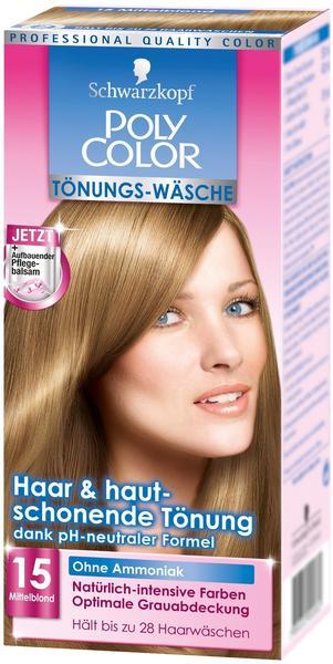 Schwarzkopf Poly Color Toenungs-Wäsche Mittelblond (150 ml)