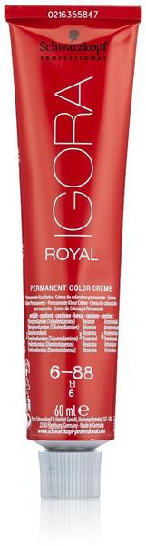Schwarzkopf Igora Royal Nuance 6-88 Dunkelblond Rot Extra (60 ml)