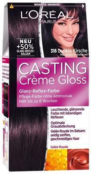 LOréal Paris Casting Creme Gloss Glossy 316 dunkle kirsche