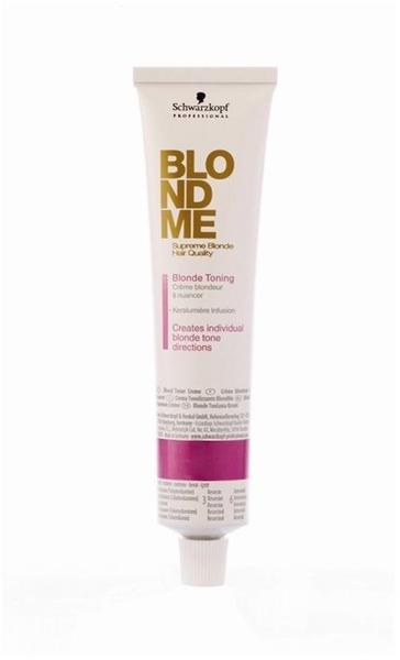 Schwarzkopf BlondMe Blonde Toning Stahlblau (60 ml)