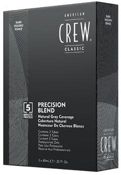 American Crew Precision Blend Natural Grey Coverage 2-3 dunkelbraun (3 x 40ml)