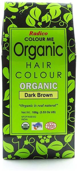 Radico Colour Me Organic dark Brown (100g)