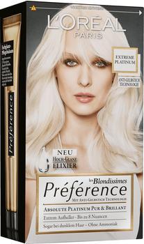 L'Oréal Préférence les Blondissimes Extreme Platinum