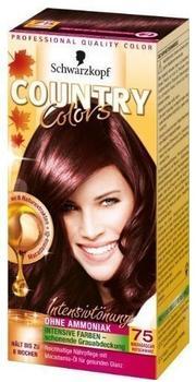 Schwarzkopf Country Colors Intensivtönung 75 madagaskar rotschwarz