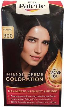 Schwarzkopf Poly Palette Intensiv Creme Coloration 900 Schwarz
