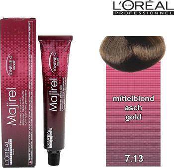 L'Oréal Majirel 7,13 mittelblond asch gold (50 ml)