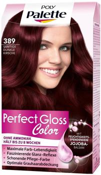 Schwarzkopf Poly Palette Perfect Gloss Color Tönung 389 Samtige Dunkle Kirsche