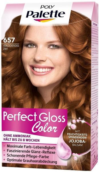 Schwarzkopf Poly Palette Perfect Gloss Color Tönung 657 Verlockendes Zimt