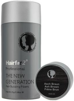 hairfor2-streuhaar-haarverdichtung-haarauffueller-schuetthaar-haare-aschbraun-100gr-139-80-eur