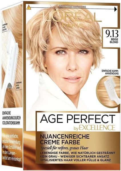 LOréal Paris Excellence Age Perfect 9.13 beige blond 3 St.