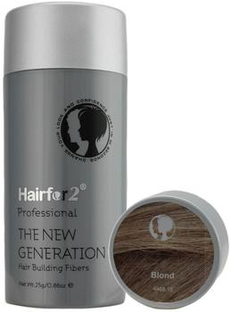 Hairfor2 The New Generation Hair Building Fibers Blond (25g)