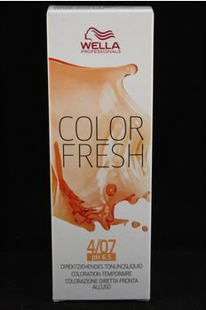 Wella Color Fresh Liquid 4/07 (75 ml)