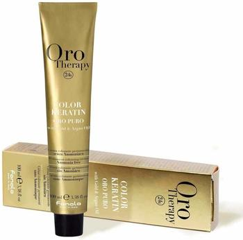 Fanola Oro Puro Therapy Color Keratin 9.0 sehr helles Blond (100ml)