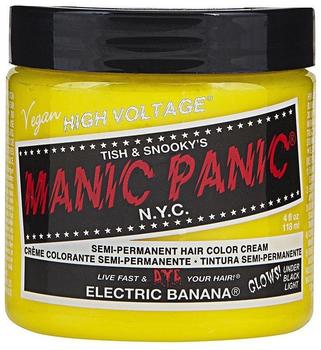 Manic Panic Semi-Permanent Hair Color Cream Electric Banana