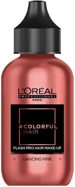 L'Oréal #Colorfulhair Flash Pro Hair Make-Up - Dancing Pink (60 ml)