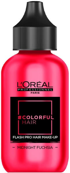 L'Oréal #Colorfulhair Flash Pro Hair Make-Up - Midnight Fuchsia (60 ml)