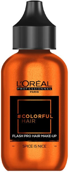 L'Oréal #Colorfulhair Flash Pro Hair Make-Up - Spice Is Nice (60 ml)