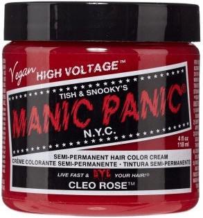 Manic Panic Semi-Permanent Hair Color Cream - Cleo Rose (118ml)