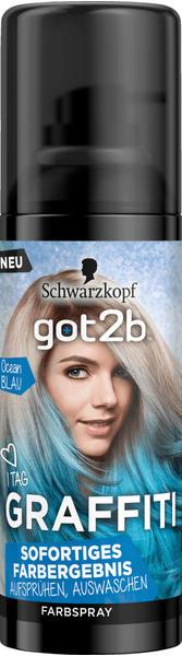 Schwarzkopf Got2b Graffiti Ocean Blau (120ml)