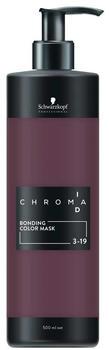Schwarzkopf Professional Chroma ID Bonding Colour Mask 3-19 dunkelbraun cendre violett (500 ml)
