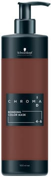 Schwarzkopf Professional Chroma ID Bonding Colour Mask 4-6 mittelbraun schoko (500 ml)