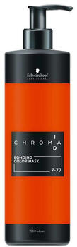 Schwarzkopf Professional Chroma ID Bonding Colour Mask 7-77 mittelblond kupfer extra (500 ml)
