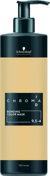 Schwarzkopf Professional Chroma ID Bonding Colour Mask 9.5-4 platinblond beige (500 ml)