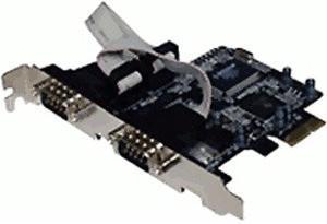 Longshine LCS-6321O (2-Port RS-232 PCI-E)