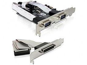 DeLock 3-Port PCI-E RS-232 Parallel (89129)