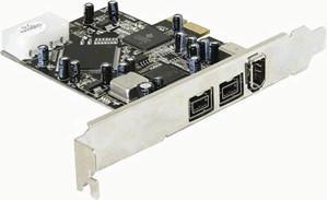 DeLock 3-Port PCI-E FireWire 400 800 (89153)