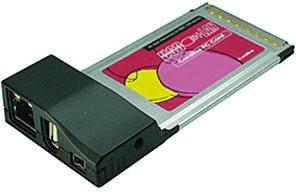 Exsys CardBus FireWire USB 2.0 (EX-6606E)