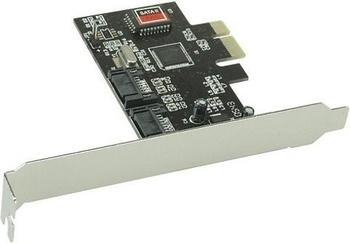 InLine PCIe SATA II (76611A)