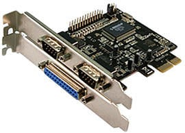 LogiLink PCIe Seriell Parallel (PC0033)