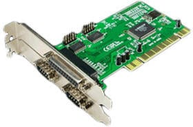 LogiLink 3-Port PCI Parallel RS-232 (PC0018)