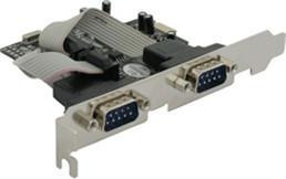 DeLock PCI Express > 2 x Seriell (89220)