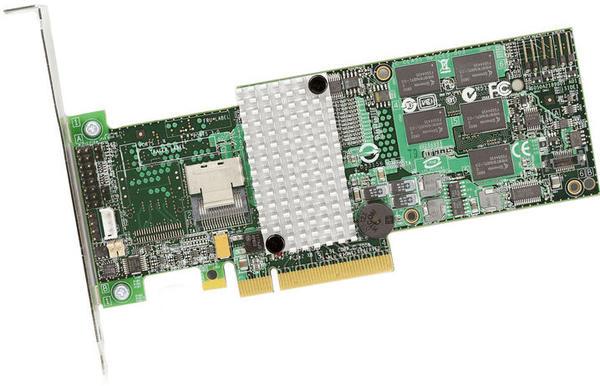 LSI Logic PCIe SAS II (9260-4i)