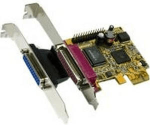Exsys 2P PCI-Express Parallel-Karte, EPP/ECP (EX-44012)