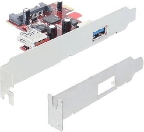 DeLock PCI Express Card > 1 x extern 1 x intern USB 3.0 (89273)