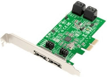 Dawicontrol PCIe SATA III (DC-624e RAID)