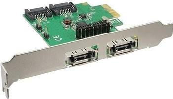 InLine PCIe SATA III (76696B)