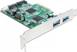 DeLock PCIe USB 3.0 / SATA III (89359)