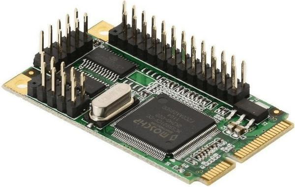 DeLock MiniPCIe Seriell / Parallel (95232)